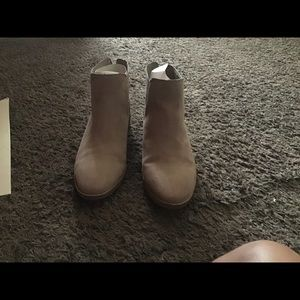 Barley worn ankle boots